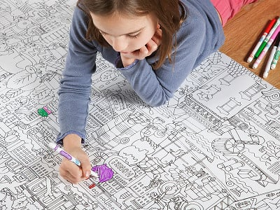 Pirasta: Really Big Coloring Poster