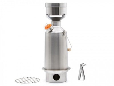 Kelly Kettle: Base Camp Kit - Stainless Steel