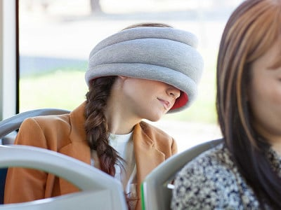Ostrich Pillow: Power Nap Pillow - Light