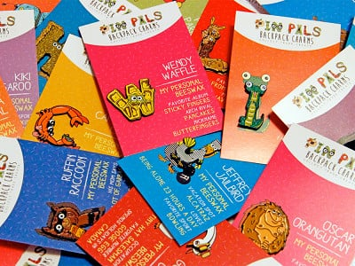Pin Pals: Alphabet Pins