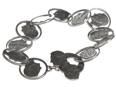 CustomMade.com: Coin Bracelets