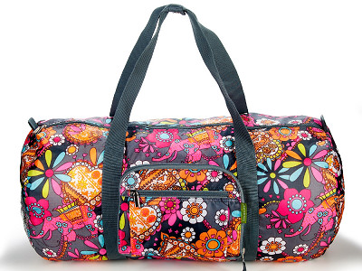 Sacs of Life: Duffster Collapsible Bag - Groovy