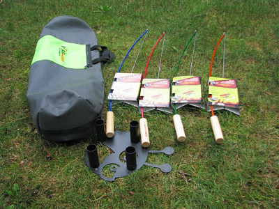Firebuggz: Fire Fishing Pole Bag Set