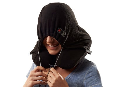 Grand Trunk: Hooded Travel Pillow
