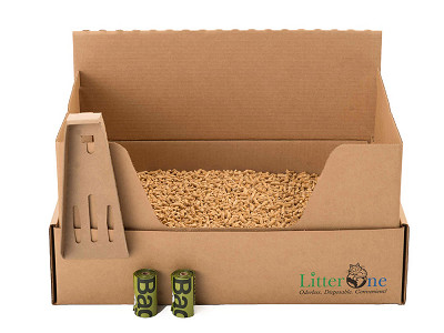 Litter One: Self-Contained Natural Cat Litter
