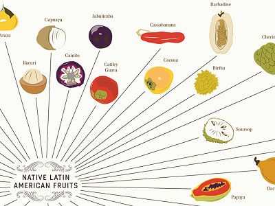 Pop Chart Lab: The Various Varieties of Fruits