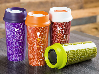 Magicup: Abstract Anti-spill Coffee Mug