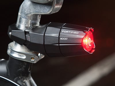 Fortified Bicycle: Invincible Rear Bike Light