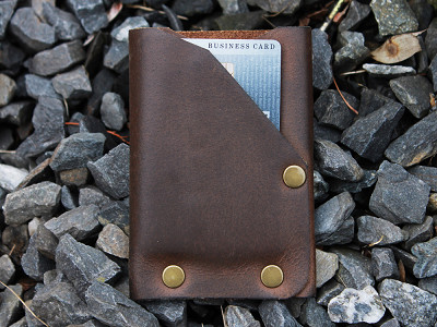 American Bench Craft: Riveted Front Pocket Wallet