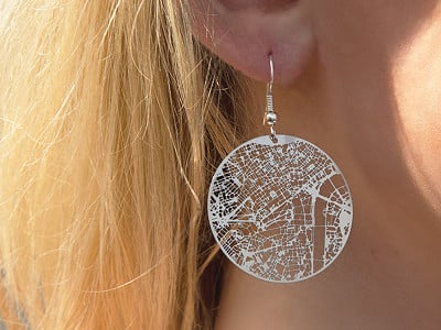 Aminimal Studio: Urban Gridded Jewelry