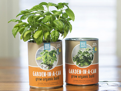 Back to the Roots: Garden-In-A-Can - 4 pack