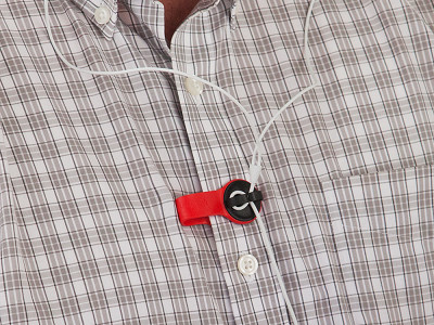 Bud Buttons: Magnetic Cord Clip
