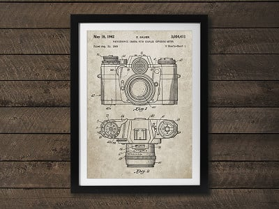 PatentPrints: Camera Patent