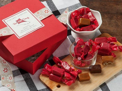 Red Kite Candy: Caramel Sampler - Case of 4
