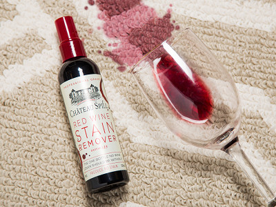 Emergency Stain Rescue: Chateau Spill - Red Wine Stain