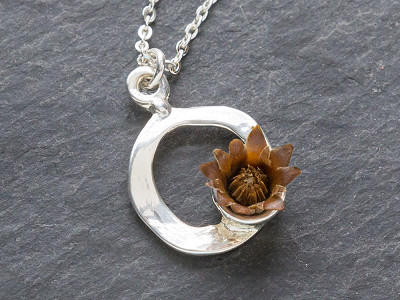 The Blessing Flower: Centered Necklace