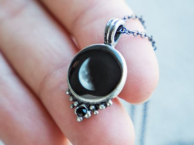 Moonglow: Choose Your Moon Phase Necklace - Classic Design
