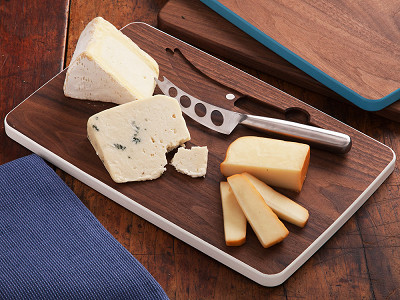 David Rasmussen: Cheese Board with Knife