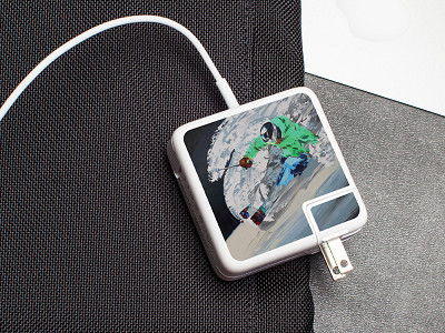Meo: Skier Charger Label
