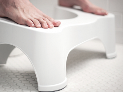 The Squatty Potty: Ecco Toilet Stool