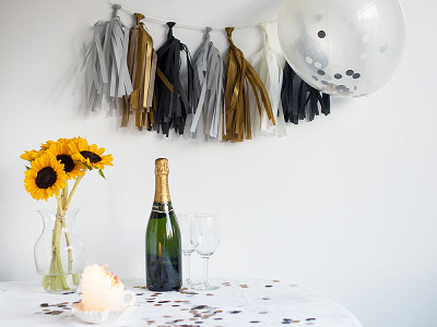 The Flair Exchange: Party Decor Set - Tuxedo