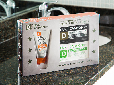 Duke Cannon: Tactical Grooming Supply Gift Set