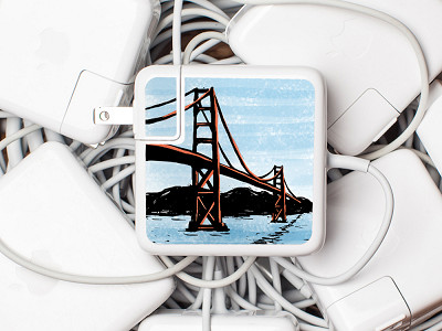 Meo: Golden Gate Charger Label