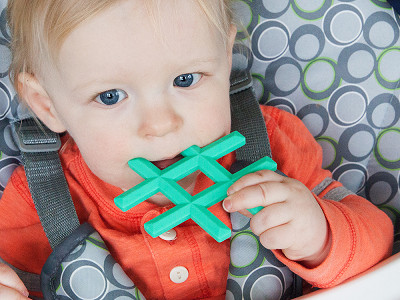 Little Standout: Hashtag Baby Teether