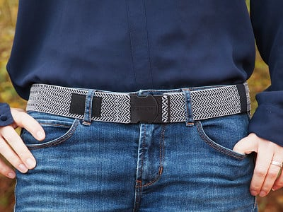 Arcade Belts: Hemingway Belt - Grey/Black