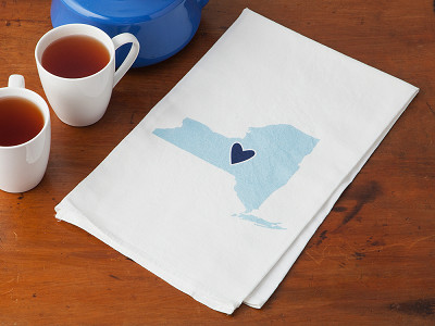 Coast & Cotton: Hometown Heart Hand Towel
