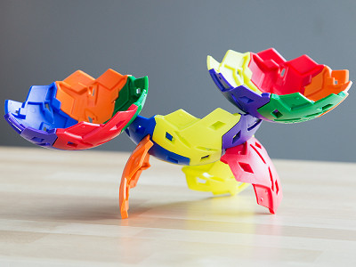 IKOS: 3-D Building Puzzle Toy