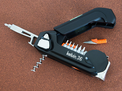 Kelvin Tools: 36-in-1 Deluxe Multi-Tool
