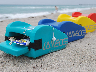 LA Wedge: Beach & Storage Pillow