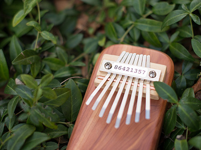 Mountain Melodies: Cedar Board Kalimba