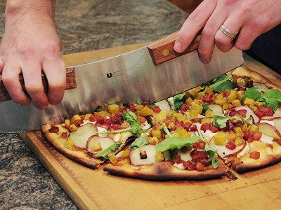 R. Murphy Knives: Pizza Rocker