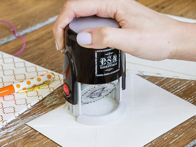 PSA Essentials: Personalized Stamp Kit