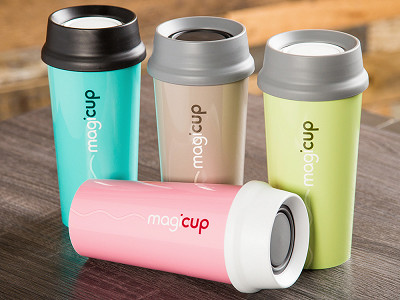 Magicup: Pure Anti-spill Coffee Mug