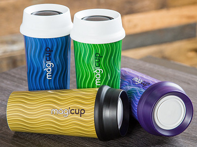 Magicup: Rhythm Anti-spill Coffee Mug
