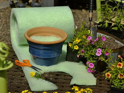 Better Than Rocks: Planter Drainage Material - Roll