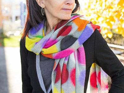 PAZ Collective: Seeing Spots Scarf