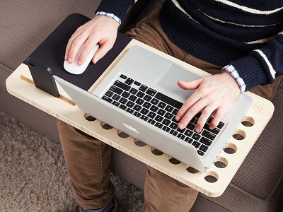 iSkelter: Right Handed Slate Mobile Lapdesk