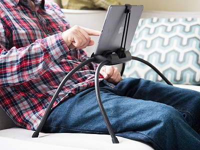 Tablift: Flexible Universal Tablet Stand
