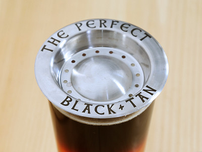 The Perfect Black and Tan: Beer Layering Tool