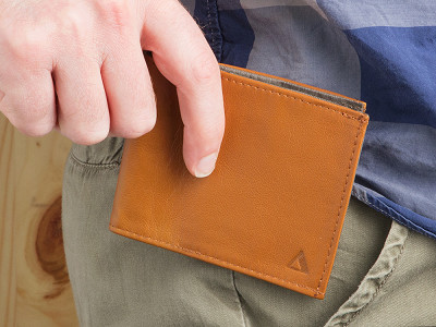Allett: Sport Classic Leather Wallet