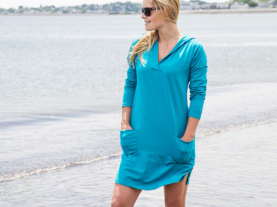 Coolibar: Beach Cover-Up Dress