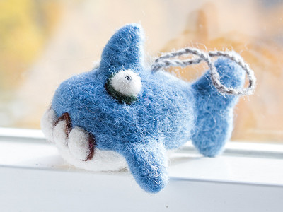 Woolbuddy: Shark