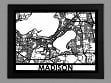 Laser Cut Maps - Madison