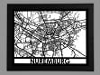 Laser Cut Maps - Nuremburg
