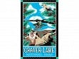 Kitchen Towel - Crater lake National Park