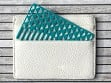 Turquoise Facet Wallet Comb